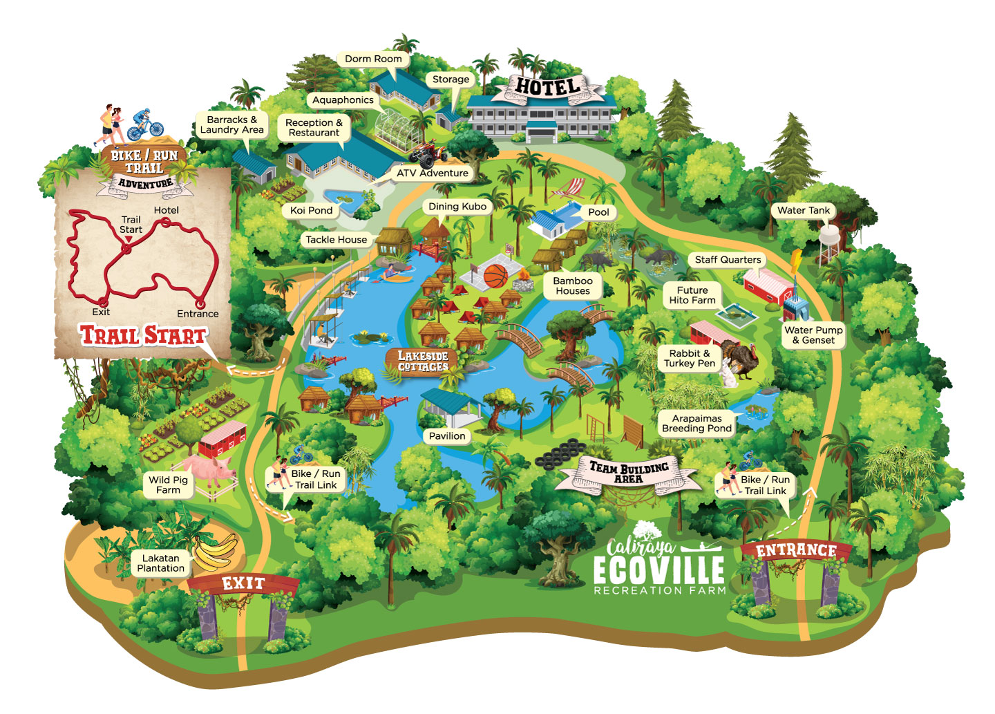 Caliraya Ecoville Map